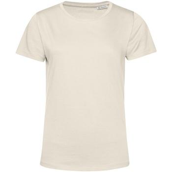 Textiel Dames T-shirts korte mouwen B&c TW02B Gebroken wit
