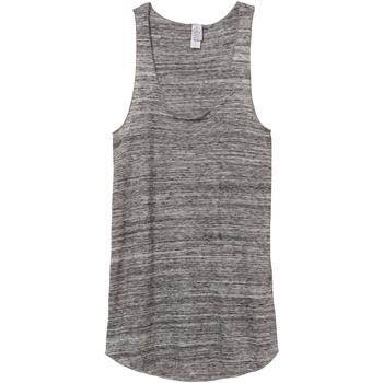 Textiel Dames Mouwloze tops Alternative Apparel AT003 Stedelijk Grijs