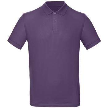 Textiel Heren Polo's korte mouwen B And C PM430 Ultraviolet