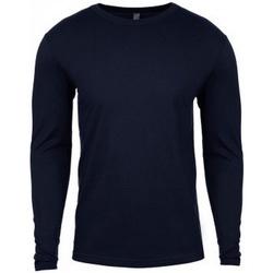 Textiel Heren T-shirts met lange mouwen Next Level NX3601 Middernacht marine