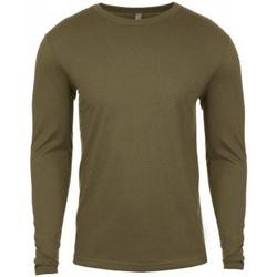 Textiel Heren T-shirts met lange mouwen Next Level NX3601 Militair Groen