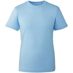 Textiel T-shirts korte mouwen Anthem AM10 Lichtblauw