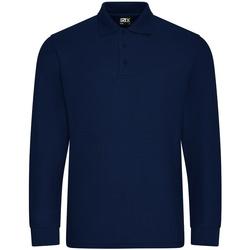 Textiel Heren Polo's lange mouwen Pro Rtx  Marine