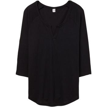 Textiel Dames T-shirts & Polo's Alternative Apparel AT008 Zwart