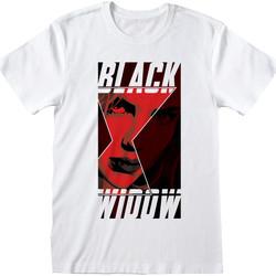 Textiel T-shirts & Polo's Black Widow  Wit