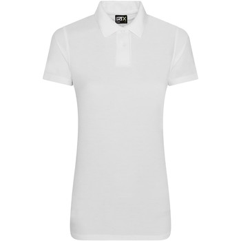 Textiel Dames Polo's korte mouwen Pro Rtx RX105F Wit