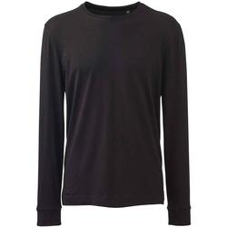 Textiel Heren T-shirts met lange mouwen Anthem AM11 Zwart