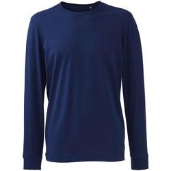 Textiel Heren T-shirts met lange mouwen Anthem AM11 Marine