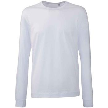 Textiel Heren T-shirts met lange mouwen Anthem AM11 Wit