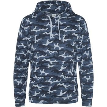 Textiel Heren Sweaters / Sweatshirts Awdis JH014 Blauwe Camo