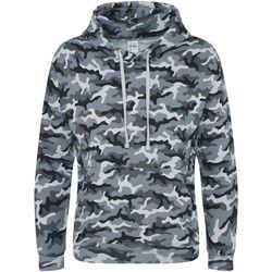 Textiel Heren Sweaters / Sweatshirts Awdis JH014 Grijze Camo