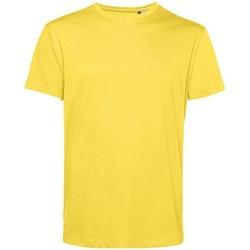 Textiel Heren T-shirts korte mouwen B&c BA212 Geel