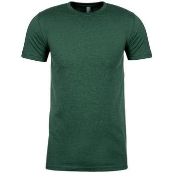 Textiel T-shirts korte mouwen Next Level NX6410 Heide Bos Groen