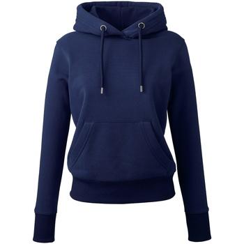 Textiel Dames Sweaters / Sweatshirts Anthem AM03 Marine Oxford