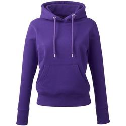 Textiel Dames Sweaters / Sweatshirts Anthem AM03 Paars
