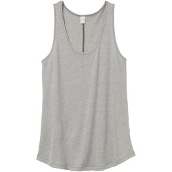 Textiel Dames Mouwloze tops Alternative Apparel AT012 Rook Grijs
