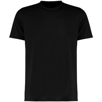 Textiel Heren T-shirts korte mouwen Kustom Kit KK555 Zwart