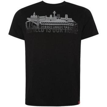 Textiel Heren T-shirts korte mouwen Liverpool Fc  Zwart