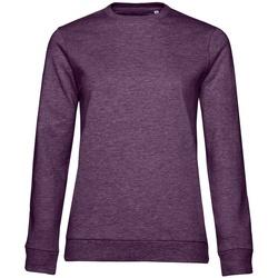 Textiel Dames Sweaters / Sweatshirts B&c WW02W Paarse heide