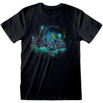 Textiel T-shirts korte mouwen Harry Potter  Zwart