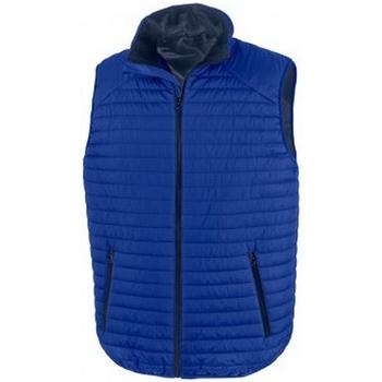 Textiel Jacks / Blazers Result R239X Royal Blue/Navy