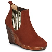 Schoenen Dames Low boots MySuelly LEON Rouille / Goud