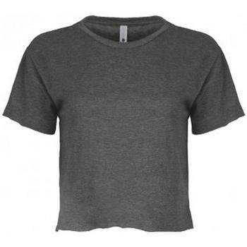 Textiel Dames T-shirts korte mouwen Next Level NX5080 Houtskool Grijs