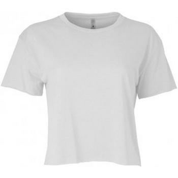 Textiel Dames T-shirts korte mouwen Next Level NX5080 Wit