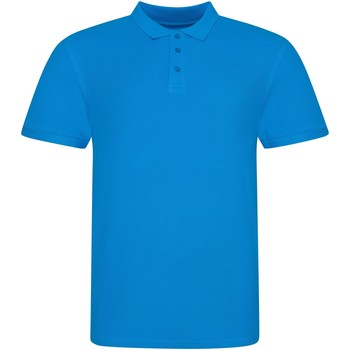 Textiel Polo's korte mouwen Awdis JP100 Azuurblauw