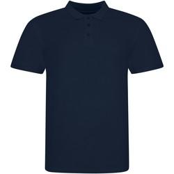 Textiel Polo's korte mouwen Awdis JP100 Marine Oxford