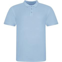 Textiel Polo's korte mouwen Awdis JP100 Hemelsblauw