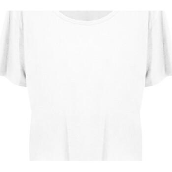 Textiel Dames T-shirts korte mouwen Ecologie EA02F Arctisch Wit