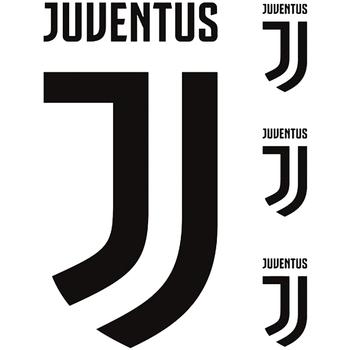Wonen Posters Juventus TA584 Zwart/Wit