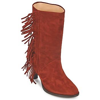 Schoenen Dames Hoge laarzen MySuelly GAD Rouille