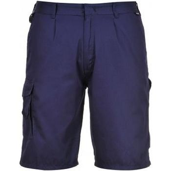 Textiel Heren Korte broeken / Bermuda's Portwest PW128 Marine