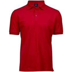 Textiel Heren Polo's korte mouwen Tee Jays T1405 Rood