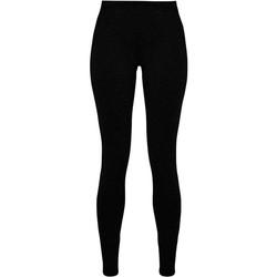 Textiel Dames Leggings Build Your Brand BY099 Zwart