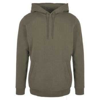 Textiel Heren Sweaters / Sweatshirts Build Your Brand BB001 Olijf