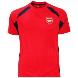 Textiel Jongens T-shirts korte mouwen Arsenal Fc  Rood/zwart