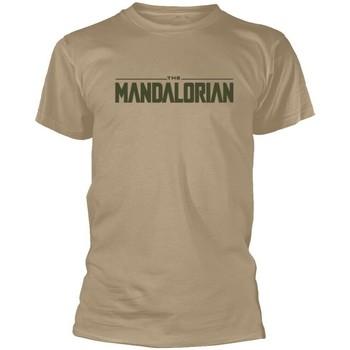 Textiel T-shirts korte mouwen Star Wars: The Mandalorian  Beige