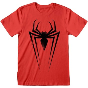 Textiel T-shirts & Polo's Marvel  Rood/zwart