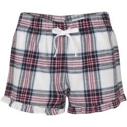 Textiel Dames Pyjama's / nachthemden Sf SK82 Wit/Roze