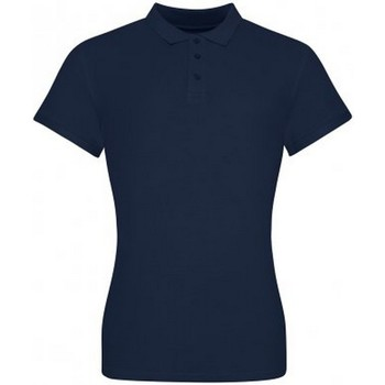 Textiel Dames T-shirts & Polo's Awdis JP100F Marine Oxford