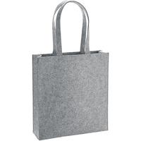 Tassen Schoudertassen met riem Bagbase BG723 Grijze Melange