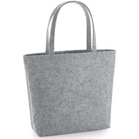 Tassen Schoudertassen met riem Bagbase BG721 Grijze Melange
