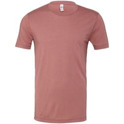 Textiel T-shirts & Polo's Bella Canvas CV003 Mauve Triblend