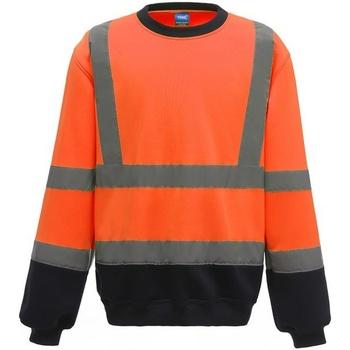 Textiel Heren Sweaters / Sweatshirts Yoko  Oranje/Zwaar