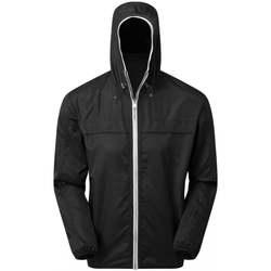 Textiel Heren Jacks / Blazers Asquith & Fox AQ201 Zwart/Wit