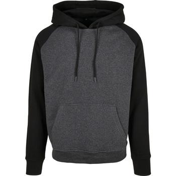 Textiel Heren Sweaters / Sweatshirts Build Your Brand BB005 Houtskool/zwart