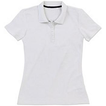 Textiel Dames T-shirts & Polo's Stedman Stars  Wit